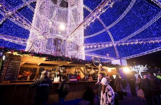 爱丁堡圣诞集市