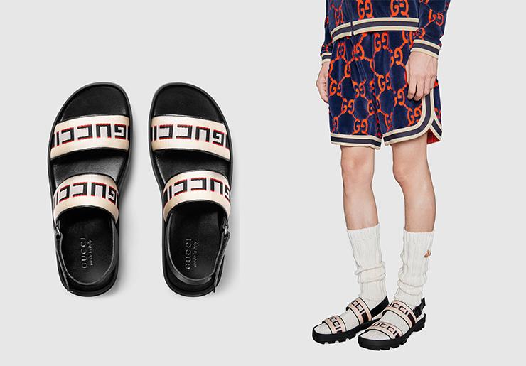 gucci凉鞋