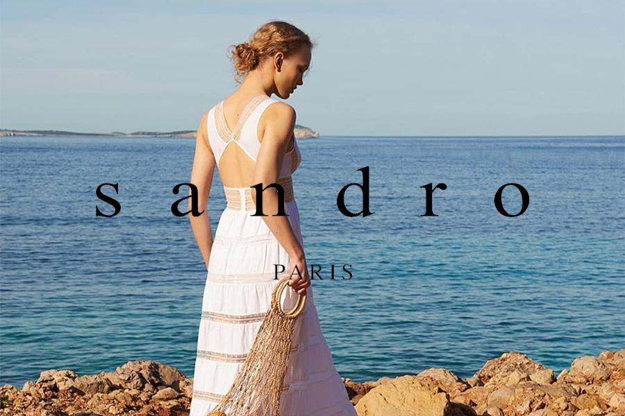 Sandro   法式轻奢男女服饰折扣高达50%OFF!