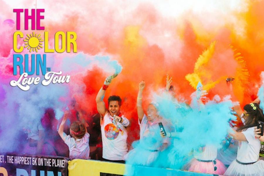 "The Color Run | 风靡全球的""彩色跑""门票限时25%OFF+额外8折!速来抢购!"