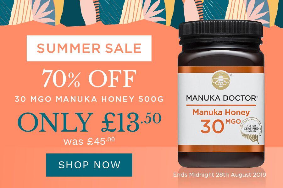Manuka Doctor麦卢卡 | 低至3折大促售完即止,养胃蜂蜜囤一波!
