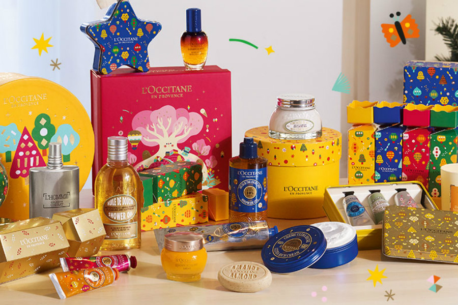 L'Occitane歐舒丹 | 滿70鎊送8件套禮包,圣誕超值禮包也在線!