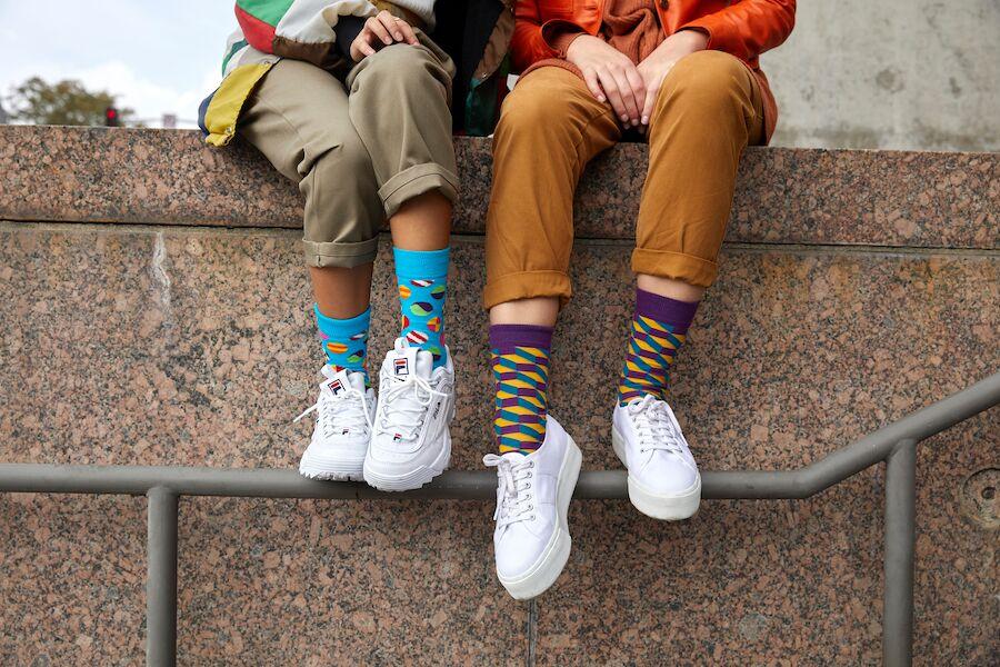 Happy socks | 正价75折,时髦可爱袜子折扣优惠中啦!