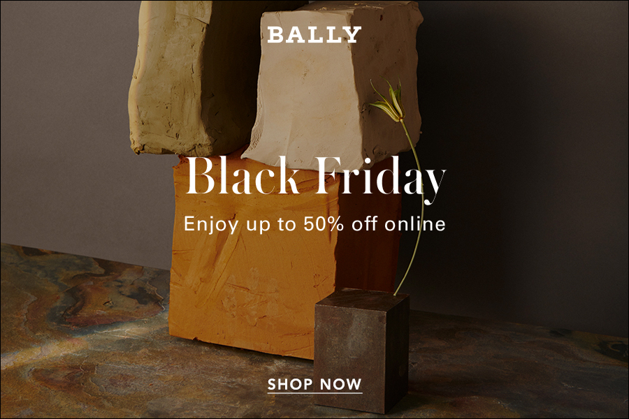 Bally | 黑五折扣50%OFF最后一天!经典方扣乐福鞋、球鞋都参与!