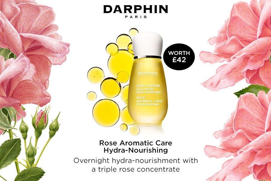 Darphin朵梵   双十一独家,买满就送价值42镑的正装玫瑰芳香精露