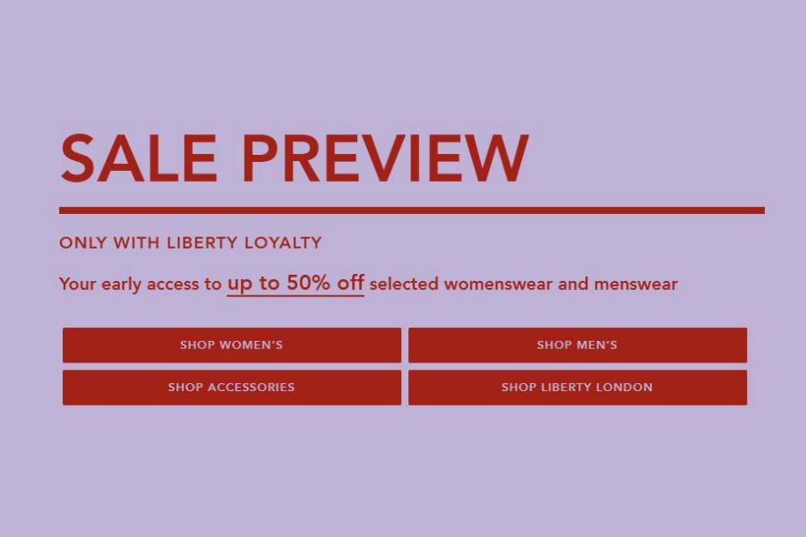 Liberty | 秋冬新款男女装会员低至5折,收AMI、Stand Studio等大热品牌