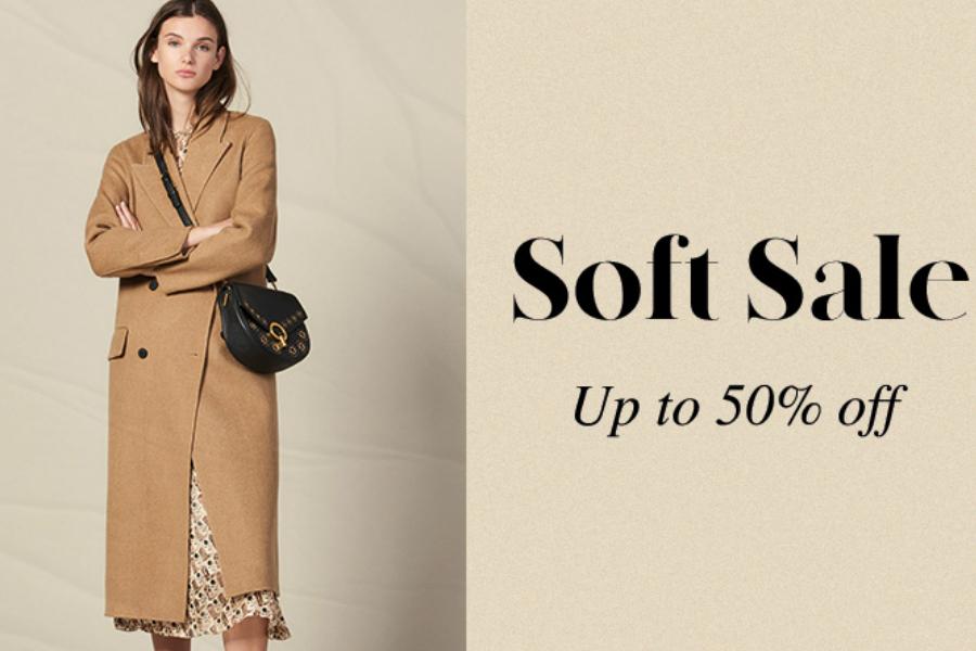 Sandro | 法国轻奢品牌男女装低至5折,超时髦!